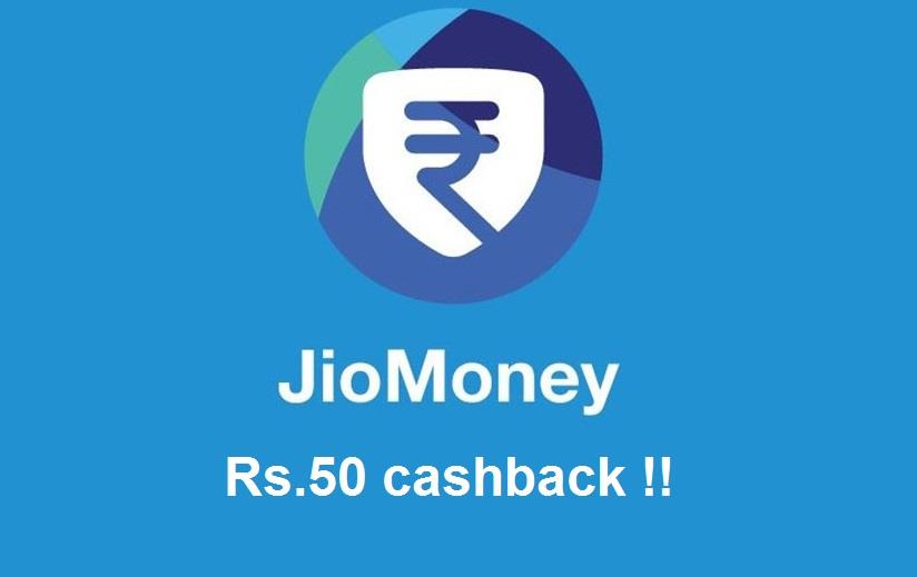 Reliance Jio Money cashback
